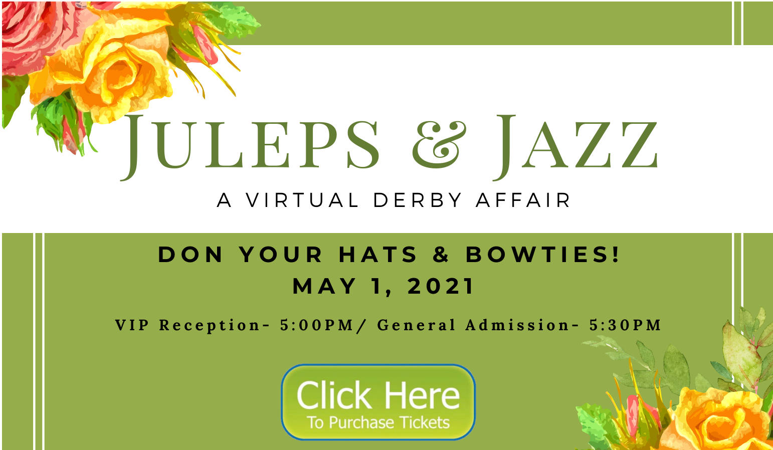 Juleps & Jazz Announcement